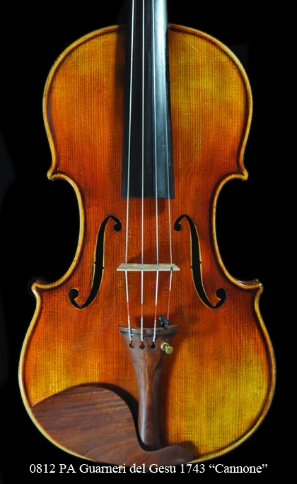 "Premium Antique SE Guarneri del Gesu 1743 ""Cannone"" Violin"